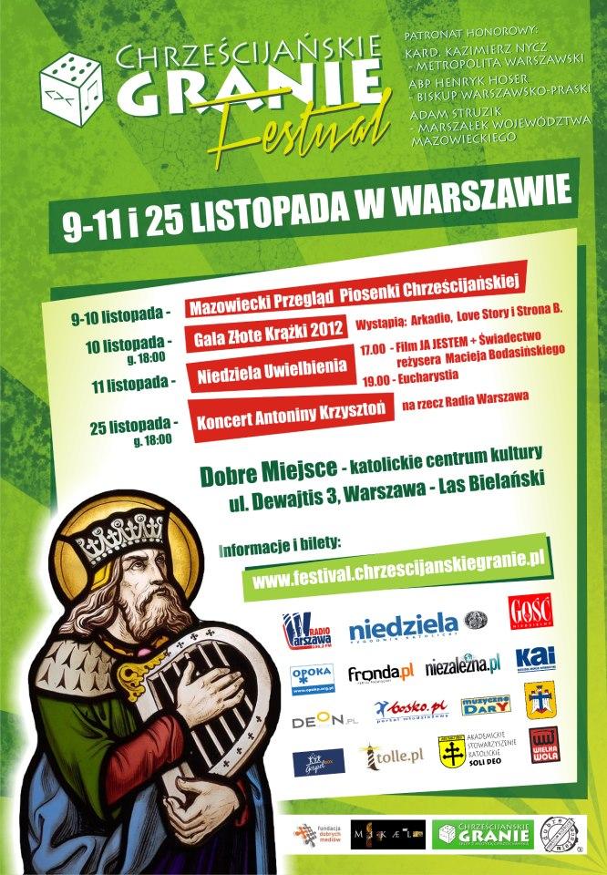 festival - oficjalny plakat