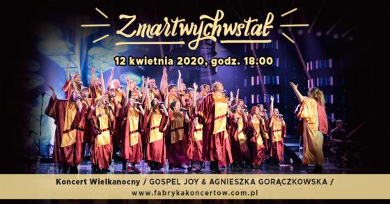 zmartwychwstał 12 kwietnia koncert
