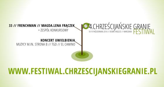 4. Festiwal Chrześcijańskie Granie - banner