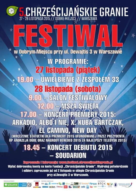 plakat 2015 - festiwal