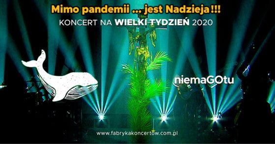 Niedziela Palmowa 2020: Niemagotu zagra dla zakonów kontemplacyjnych!